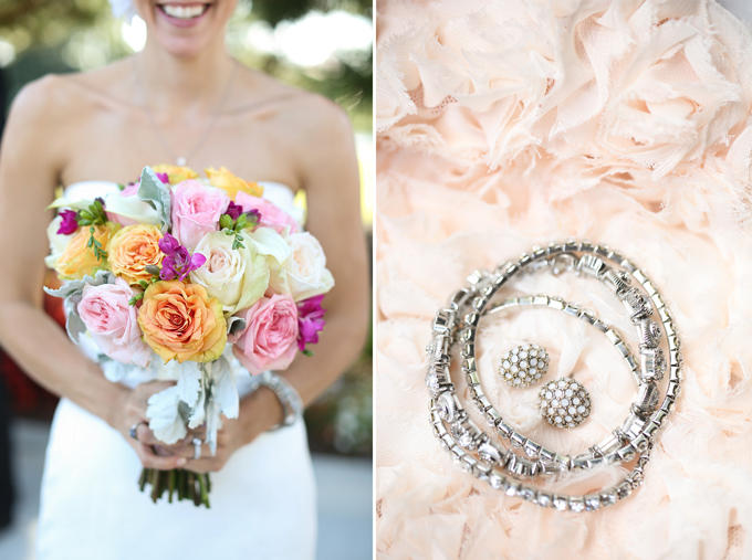 pink and gray coastal wedding | jen + ashley photography