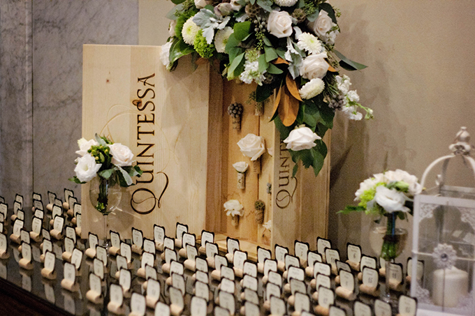 wine cork escort cards | markit photography