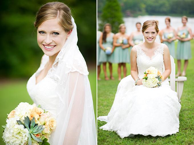 seafoam green southern wedding | Alisha Crossley Photography