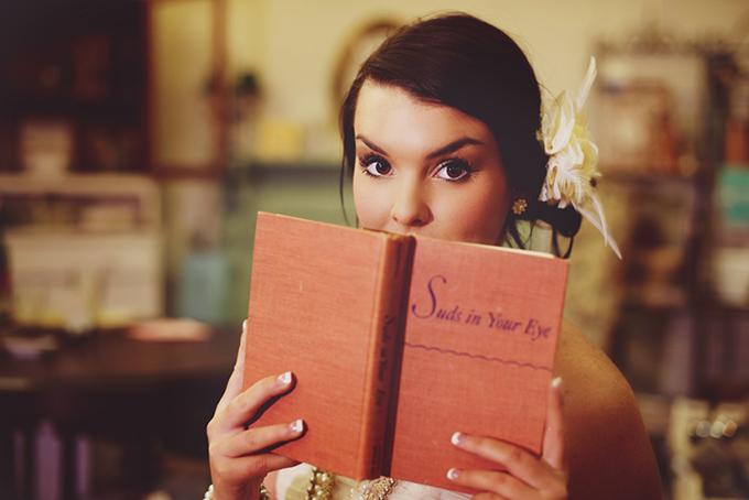 vintage glam bridal session | Bethany Erin Photography