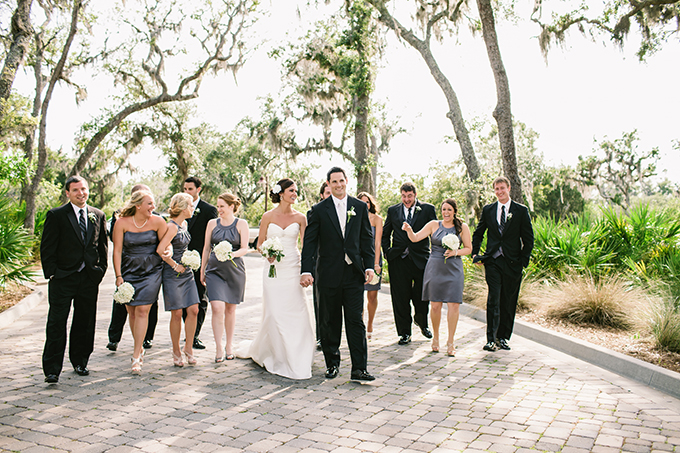 peach Florida wedding | Brooke Images