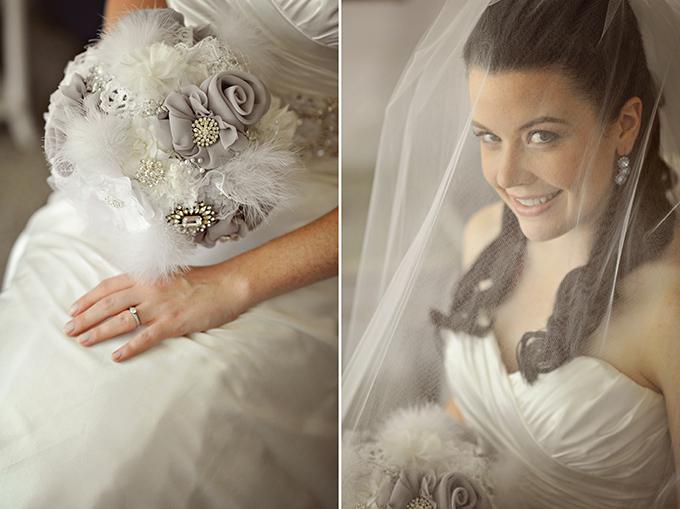 silver and blue vintage glam wedding | Kismis Ink Photography