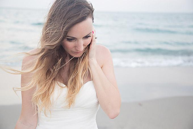 spring beach bridals | Traci Burke Photography