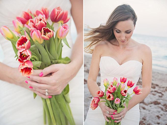 spring beach bridals   Traci Burke Photography