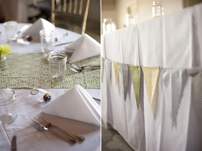 DIY blue & green Florida wedding | Stephanie A Smith