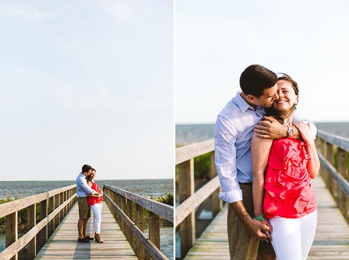 Carolina Beach Engagement | Carolyn Scott Photography