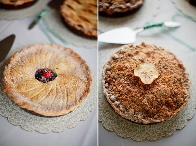 wedding pies | V.A. Photography