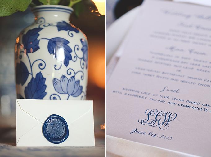 classic toile wedding | Bit of Ivory Photography