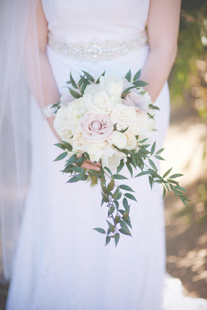 romantic pink and white bouquet   Emily Heizer Photography