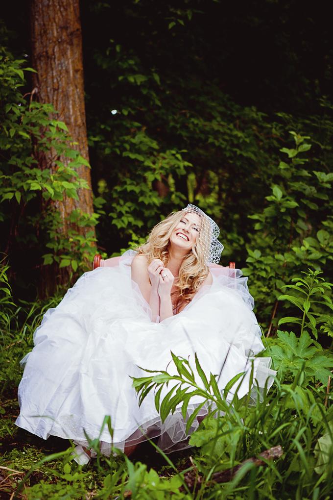 romantic bridal hair inspiration | AJ Photography
