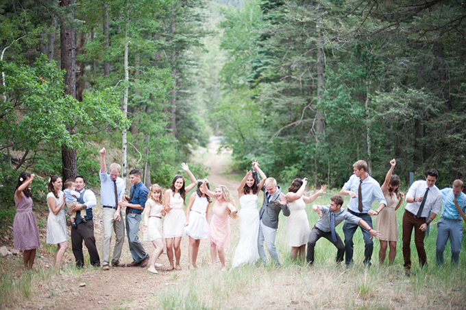rustic New Mexico mountain wedding | Jasmine Nicole Photography