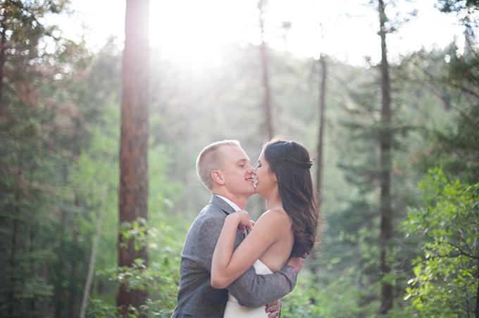 rustic New Mexico mountain wedding | Jasmine Nicole Photography