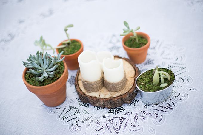 succulent centerpieces | Jasmine Nicole Photography