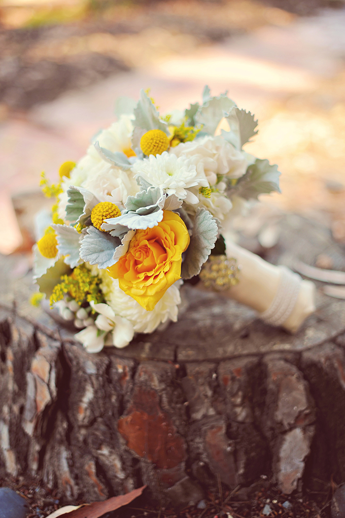 yellow bouquet | ArianaB Photography