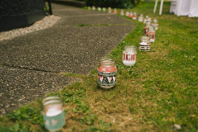 handmade mason jar candles | Jamie Delaine Photography