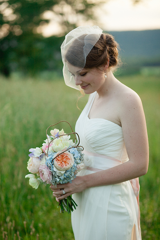pretty pastel bouquet | Sarah Becker Photography