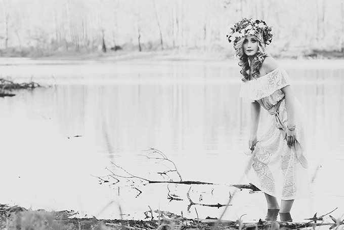 whimsical bridal portraits | Christina Carroll Photography