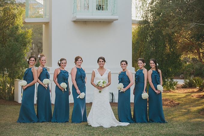 blue bridesmaids | pure7studios