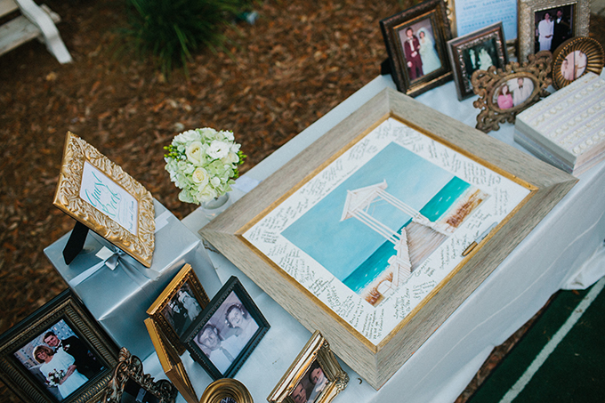 framed picture guest book | pure7studios