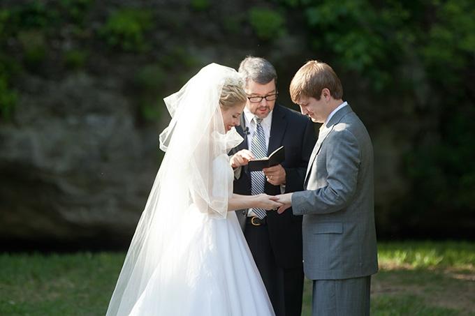 yellow southern summer wedding | Chesley Summar Photography
