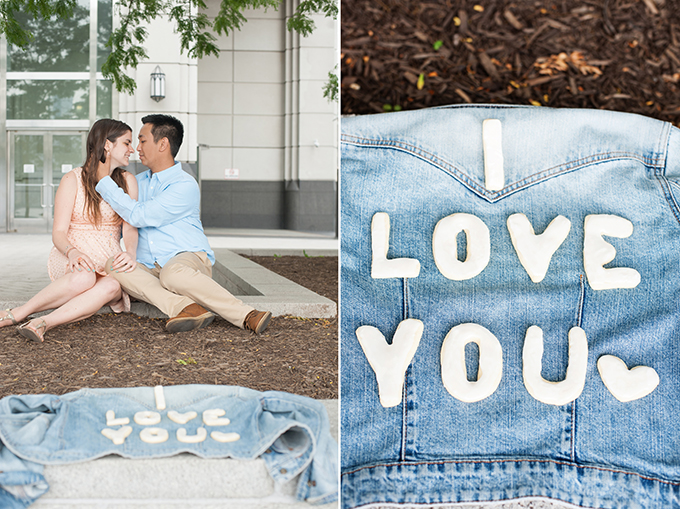 cookie themed engagement session | Mikkel Paige Photography