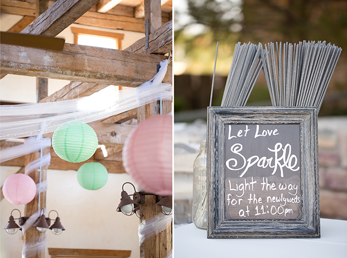 handmade pink and mint wedding | Amy & Jordan Photography