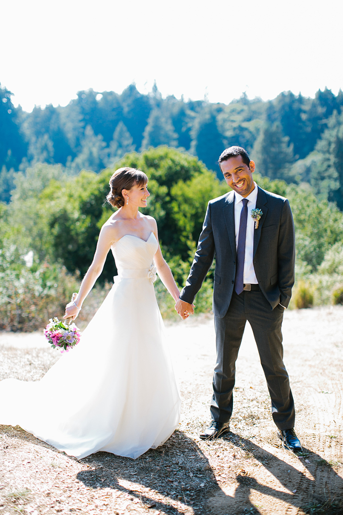 intimate purple vineyard wedding | Orbie Pullen Photography