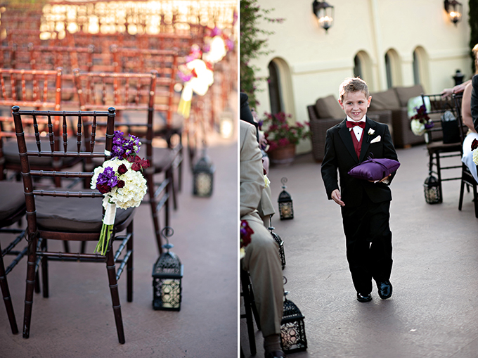 burgundy and plum rooftop wedding | Kristen Weaver Photography | Glamour & Grace