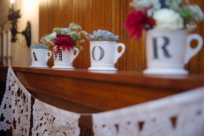 vintage blue and red wedding | Marcella Treybig Photography | Glamour & Grace