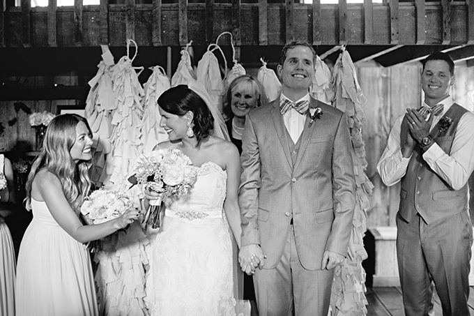 pink backyard handmade wedding   Clewell Photography   Glamour & Grace