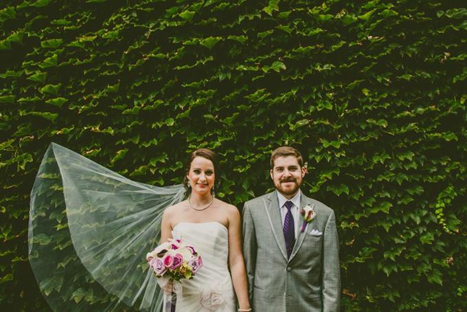Beatles themed aviary wedding | Carolyn Scott Photography | Glamour & Grace
