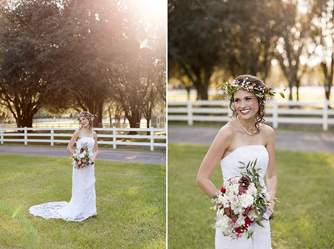 Christmas bride | Theresa NeSmith Photography | Glamour & Grace