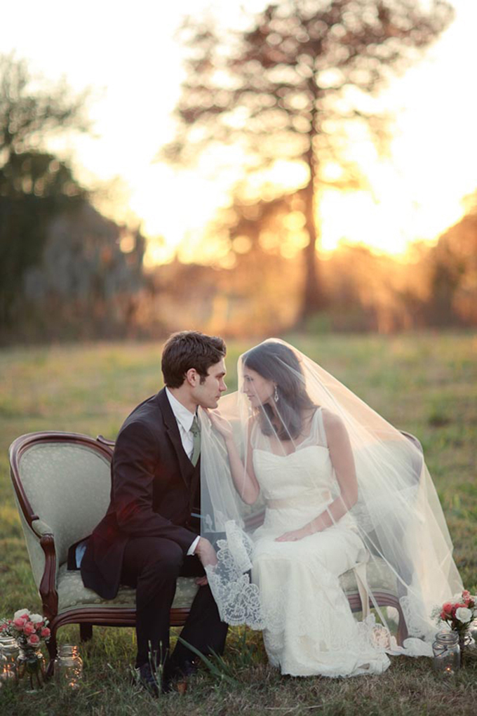 pink vintage wedding inspiration | Greer G Photography | Glamour & Grace