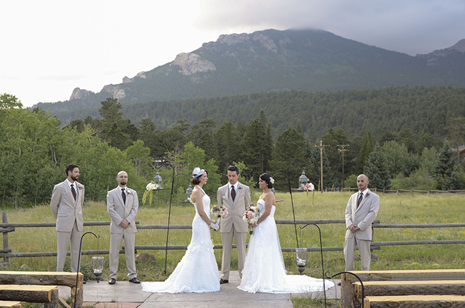 Colorado mountain wedding | Green Blossom Photography | Glamour & Grace