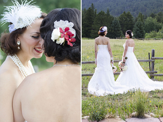 vintage brides | Green Blossom Photography | Glamour & Grace