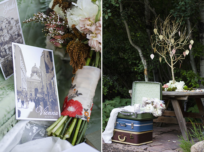 vintage wish tree | Green Blossom Photography | Glamour & Grace