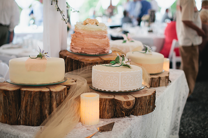 vintage cakes | Courtney Reese Photography | Glamour & Grace