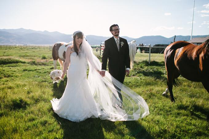 DIY rustic ranch wedding | Joe+Kathrina | Glamour & Grace