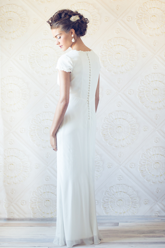 Adriann Papell gown | Judah Ave | Glamour & Grace