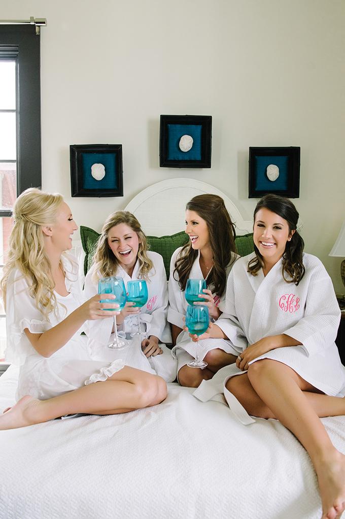 monogram bridesmaids robes | dear wesleyann | Glamour & Grace