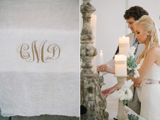 monogram altar | dear wesleyann | Glamour & Grace