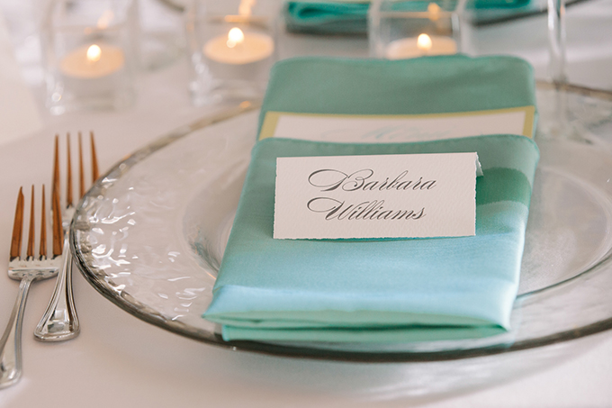 calligraphy place setting | dear wesleyann | Glamour & Grace