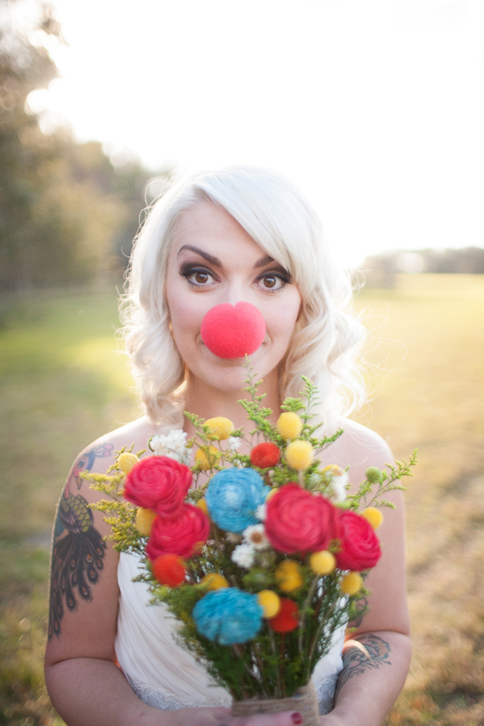 vintage circus bride | Esther Louise Photography | Glamour & Grace