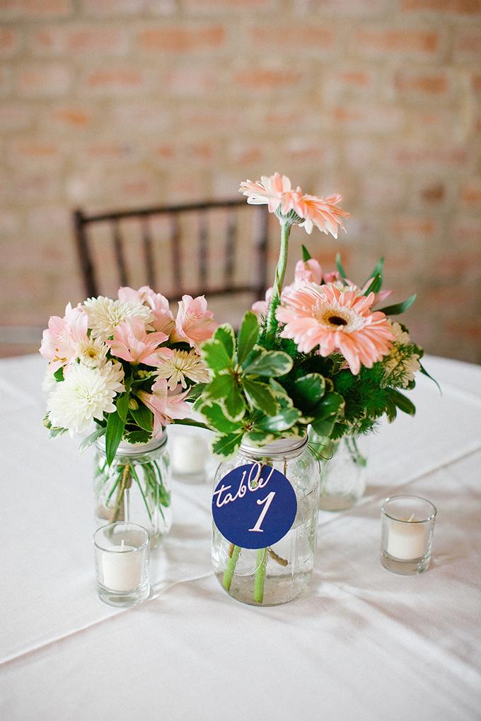 pink and blue centerpiece | Kimberly Chau Photography | Glamour & Grace