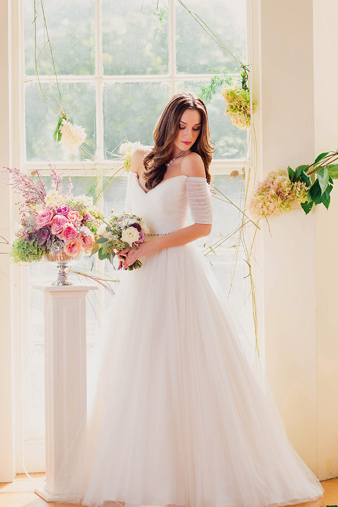 gorgeous Rosa Clara gown | Kate's Lens Photography | Glamour & Grace
