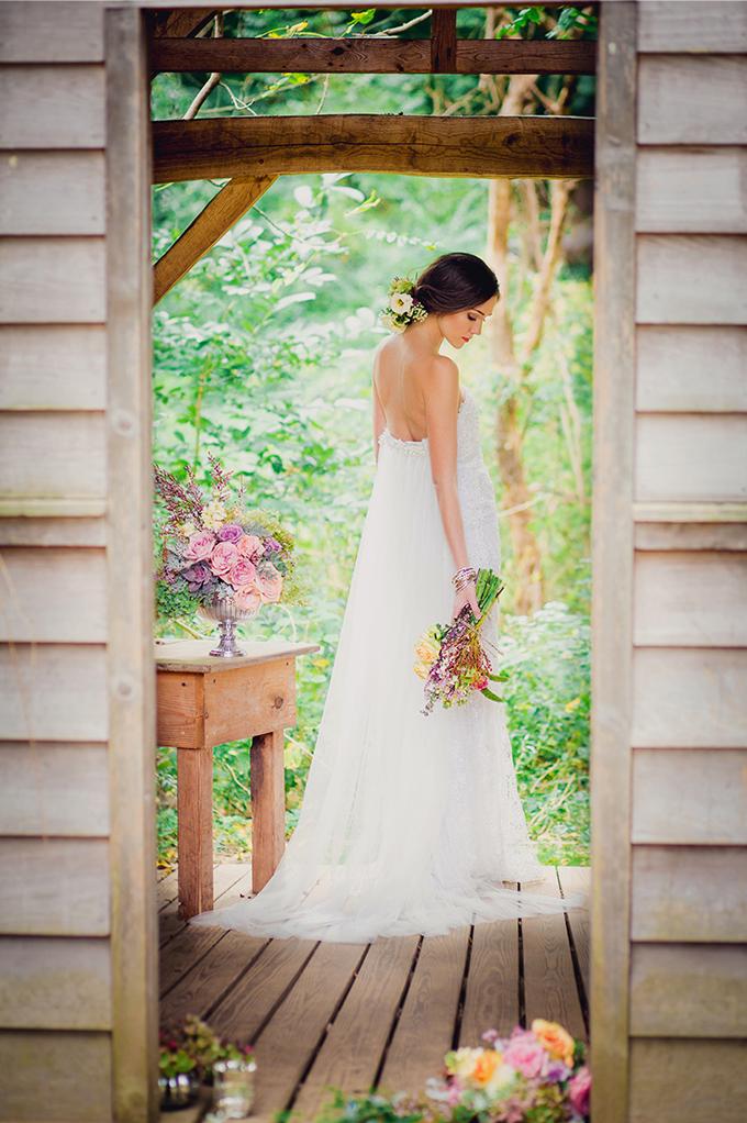 Francesca Miranda gown | Kate's Lens Photography | Glamour & Grace