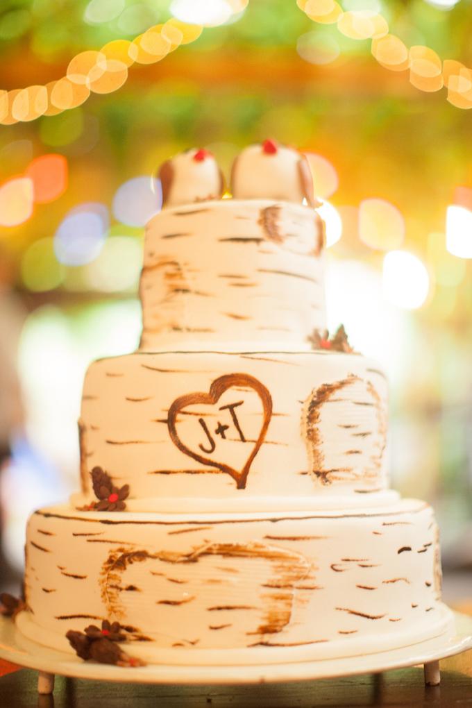 rustic cake   Peter & Veronika   Glamour & Grace