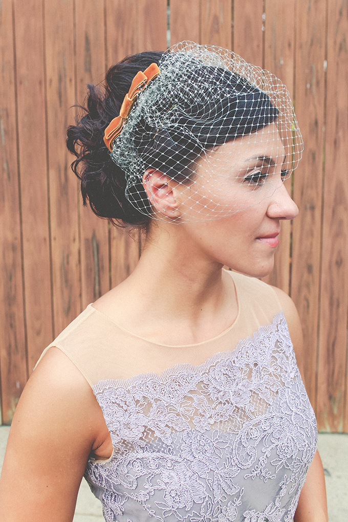 birdcage veil | Keira Lemonis Photography | Glamour & Grace