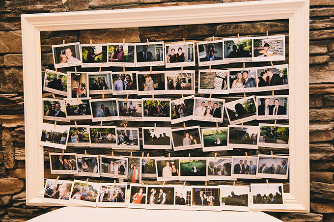 photo guest book | Katie Slater Photography | Glamour & Grace