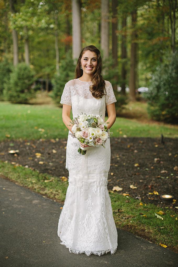 stunning Carolina Herrera gown | Brooke Courtney Photography | Glamour & Grace